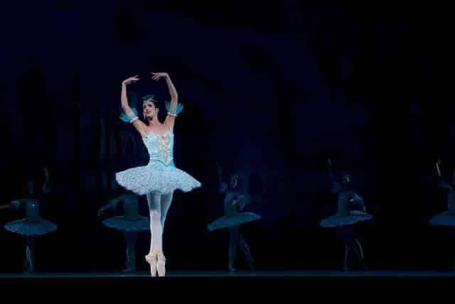 baletnica na scenie