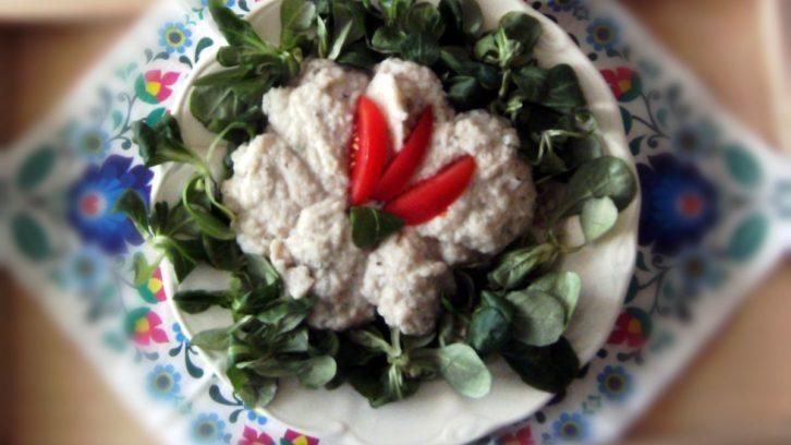 kasza z kalafiorowym sosem i błonnikiem witalnym