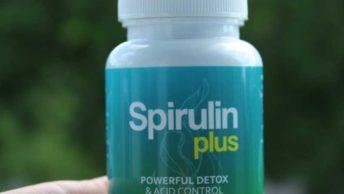 spirulin plus tabletki na oczyszczenie i odkwaszenie organizmu